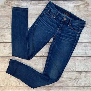 Mother 'The Looker' Moontide Skinny Jeans